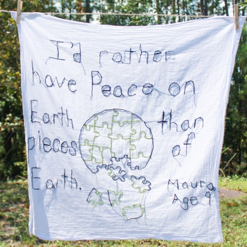 I'd Rather Have Peace on Earth Than Pieces of Earth