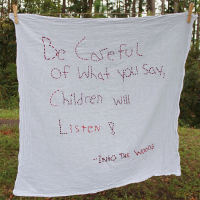Be Careful of What You Say, Children Will Listen